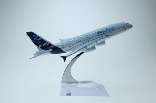 Airbus A380 Plane Airliner DieCast Airplane Model 16 cm