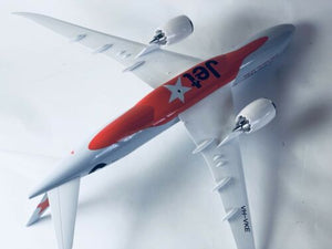 Jetstar 787 Dreamliner B787 Large Plane Model Solid Resin 2Kg Apx 43Cm 1:160