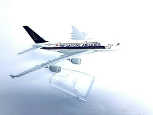 SINGAPORE A380 Model PlaneScale Apx 14cm Long Diecast Metal Airline