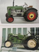 Load image into Gallery viewer, TRACTOR 1:25 & SEED FARM SET #1 CLOCKWORK TINPLATE 5xGEARS KOVAP EUROPEAN 380
