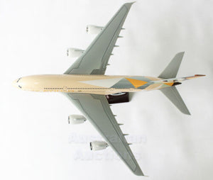 Etihad A380 Large Plane Model Boeing Airplane Apx 43Cm Solid Resin