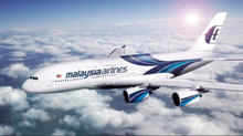 Load image into Gallery viewer, Malaysian Airlines A380 Large Plane Model Boeing Airplane Apx 45Cm Solid Resin