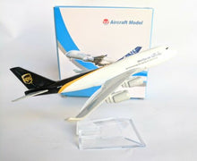 Load image into Gallery viewer, Ups Diecast Metal Plane Aircraft Models On Stand 14Cm