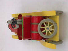 Load image into Gallery viewer, TIN TOY VINTAGE CAR CLOCKWORK COLLECTIBLE TINPLATE