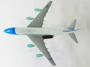 AIR FORCE ONE 1 LARGE PLANE MODEL ON STAND APX 1.5' SOLID RESIN