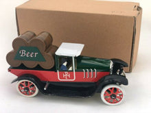 Load image into Gallery viewer, TIN TOY VINTAGE BEER TRUCK CLOCKWORK COLLECTIBLE TINPLATE