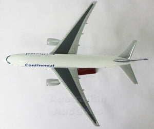 Continental B777-200;47Cm Large Plane Model +Stnd Solid Resin