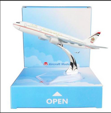 Load image into Gallery viewer, 1️ 14cm 1:400 Etihad 747 Airplane Aeroplane Diecast Metal Plane Toy Model 1️-14cm-1-400-etihad-747-airplane-aeroplane-diecast-metal-plane-toy-model