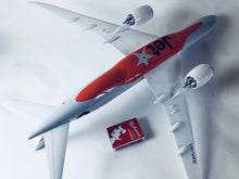 Load image into Gallery viewer, Jetstar Plane Model  Large Model Resin on Stand 1:160 jetstar-plane-model-large-model-resin-on-stand-1-160