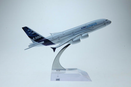 Airbus A380  Plane Airliner DieCast Airplane Model 16 cm airbus-a380-plane-airliner-diecast-airplane-model-16-cm