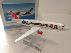️ 16cm 1:450 AMAZING AIR ASIA Aeroplane Diecast Plane Toy Model ️-16cm-1-450-amazing-air-asia-aeroplane-diecast-plane-toy-model