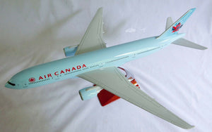 AIR CANADA B777 LARGE PLANE MODEL  1:150 AIRPLANE APX 43cm SOLID air-canada-b777-large-plane-model-1-150-airplane-apx-43cm-solid