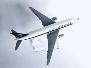 SINGAPORE  B777 Model PlaneScale Apx 14cm Long Diecast Metal Airline singapore-b777-model-planescale-apx-14cm-long-diecast-metal-airline