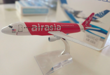 Load image into Gallery viewer, Air Asia Red Airlines 1:400 Apx 16cm Diecast Plane Model air-asia-red-airlines-1-400-apx-16cm-diecast-plane-model
