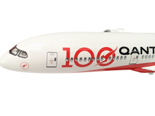 Load image into Gallery viewer, Qantas 100th Anniversary Large Plane Model Boeing 787-9 qantas-100th-anniversary-large-plane-model-boeing-787-9-1-150-43cm-centenary