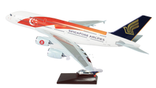 Load image into Gallery viewer, Singapore 50th Anniversary Model A380 Large Model Plane 47cm singapore-air-50th-anniversary-livery-airbus-a380-large-plane-model-apx-47cm