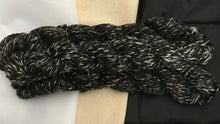 Load image into Gallery viewer, Black Satin, Elizabeth, Raquel TWEED YARN