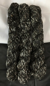 Black Satin, Elizabeth, Raquel TWEED YARN