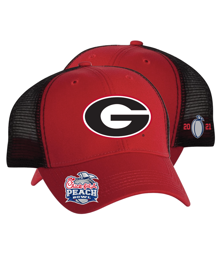 2021 Chick-fil-A Peach Bowl Georgia Cap