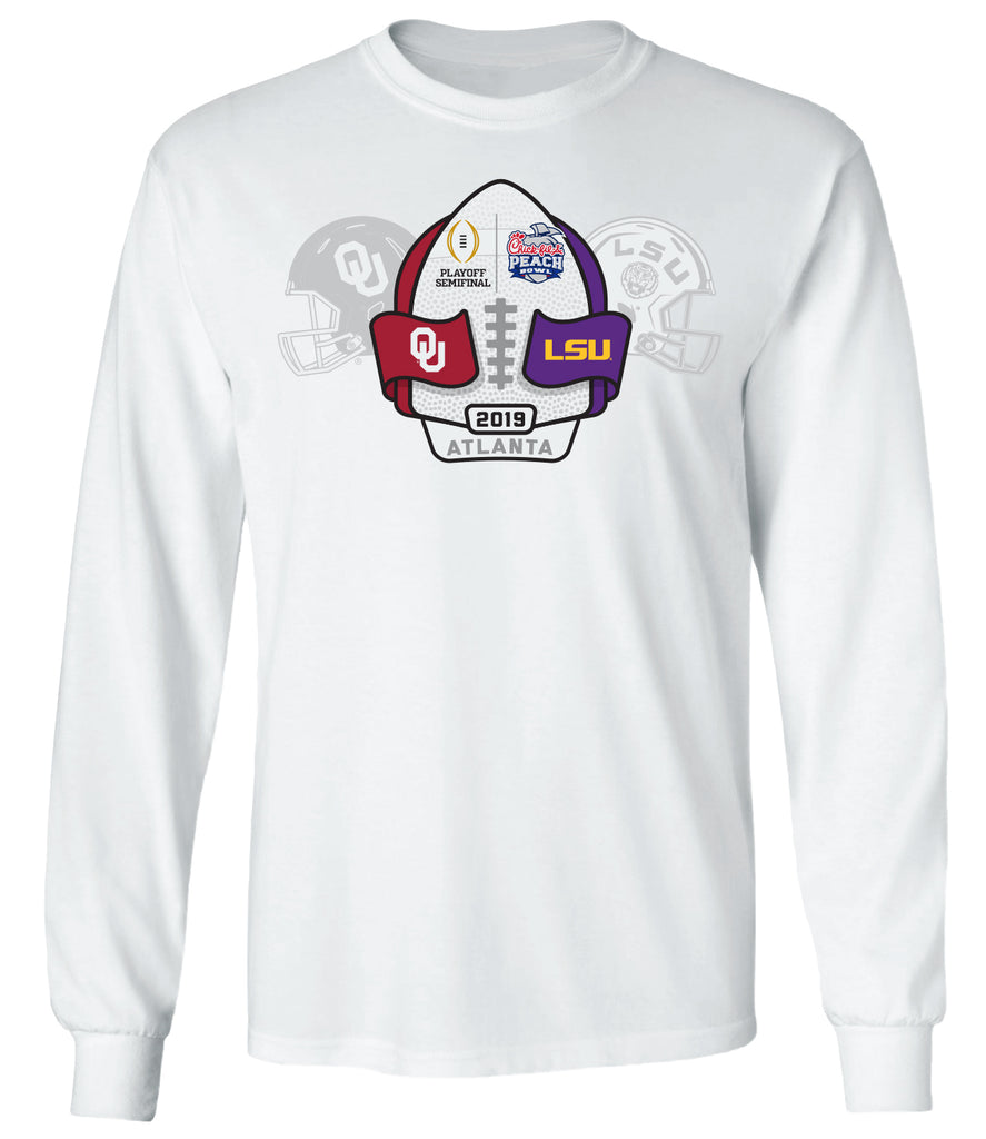 2019 Chick-fil-A Peach Bowl 2-Team Long Sleeve T