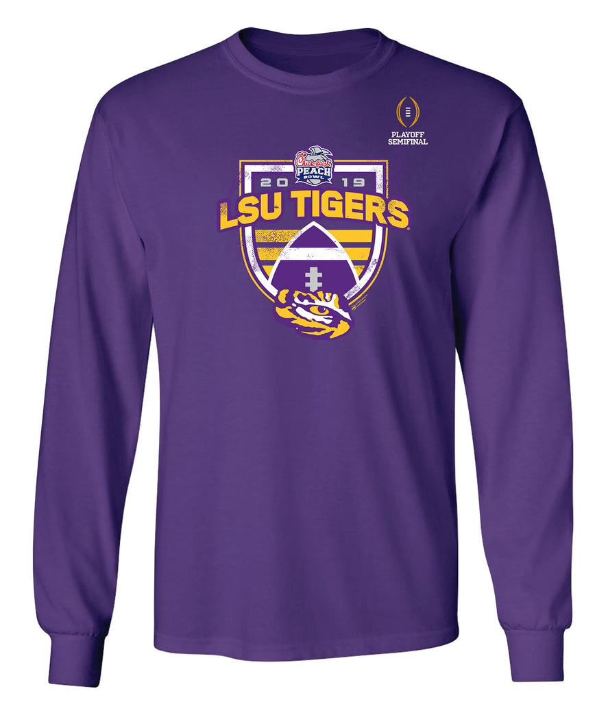 2019 Chick-fil-A Peach Bowl LSU Long Sleeve T
