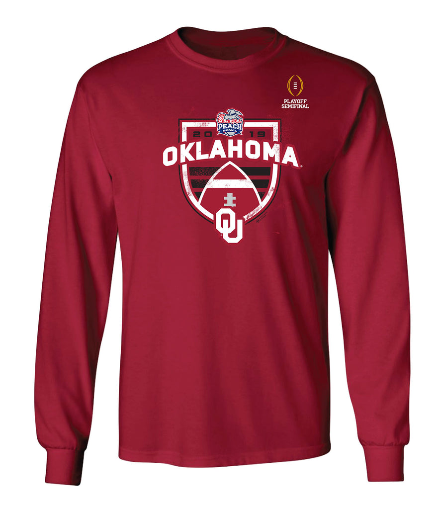 2019 Chick-fil-A Peach Bowl Oklahoma Long Sleeve T