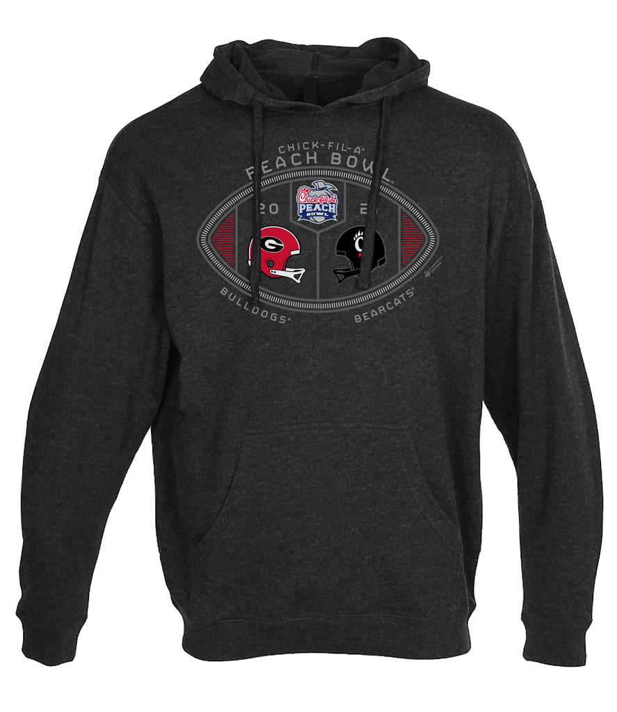 2021 Chick-fil-A Peach Bowl 2-Team French Terry Hoodie