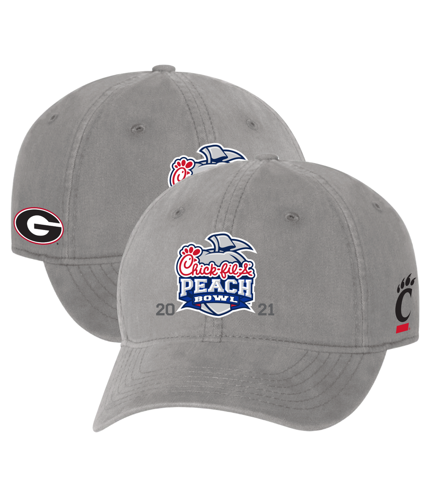 2021 Chick-fil-A Peach 2-Team Grey Cap