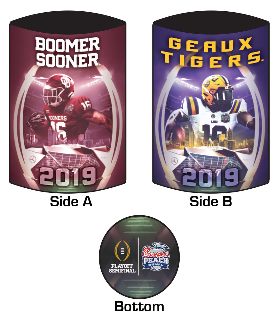 2019 Chick-fil-A Peach Bowl 16oz Koozie