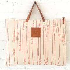 Mediterranean Coral Work Bag