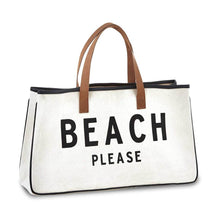 Load image into Gallery viewer, Beach Please Beach Tote