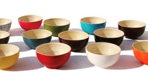 Bamboo Bowl (Small, Round)