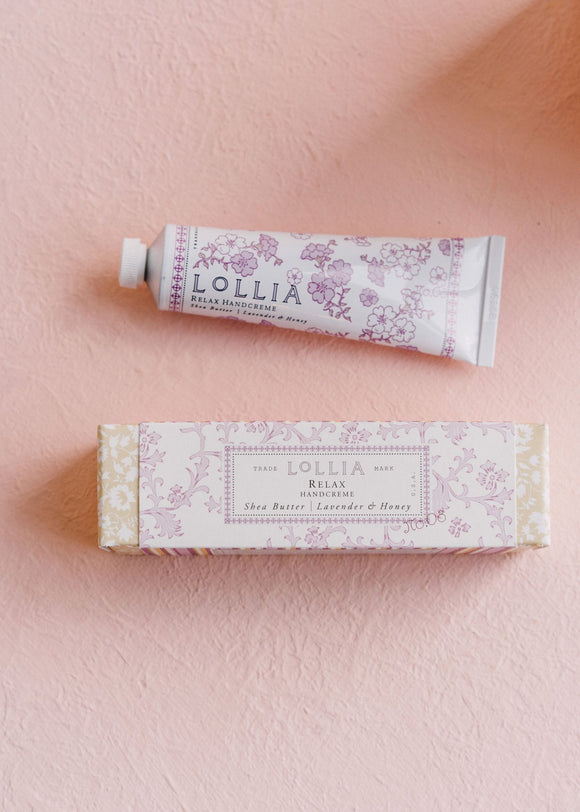 Relax Travel Size Handcreme