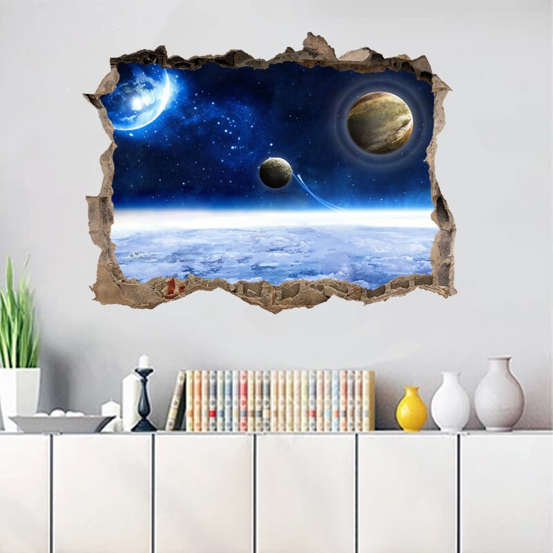 3D  Space Wall