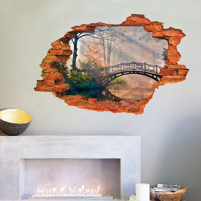 3D Landscape decals