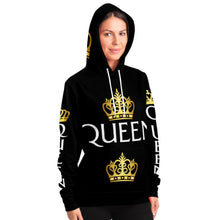 Load image into Gallery viewer, Black women long Hoodie - TattooAwards.com