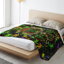Load image into Gallery viewer, Canabeast microfleece blanket - TattooAwards.com