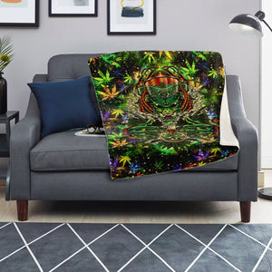 Canabeast microfleece blanket - TattooAwards.com