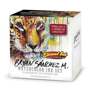 Eternal Ink - Bryan Sanchez Watercolor Set - 1 oz - TattooAwards.com