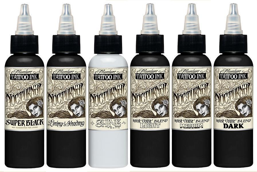 Nocturnal Ink - Full Set - 2 oz - TattooAwards.com