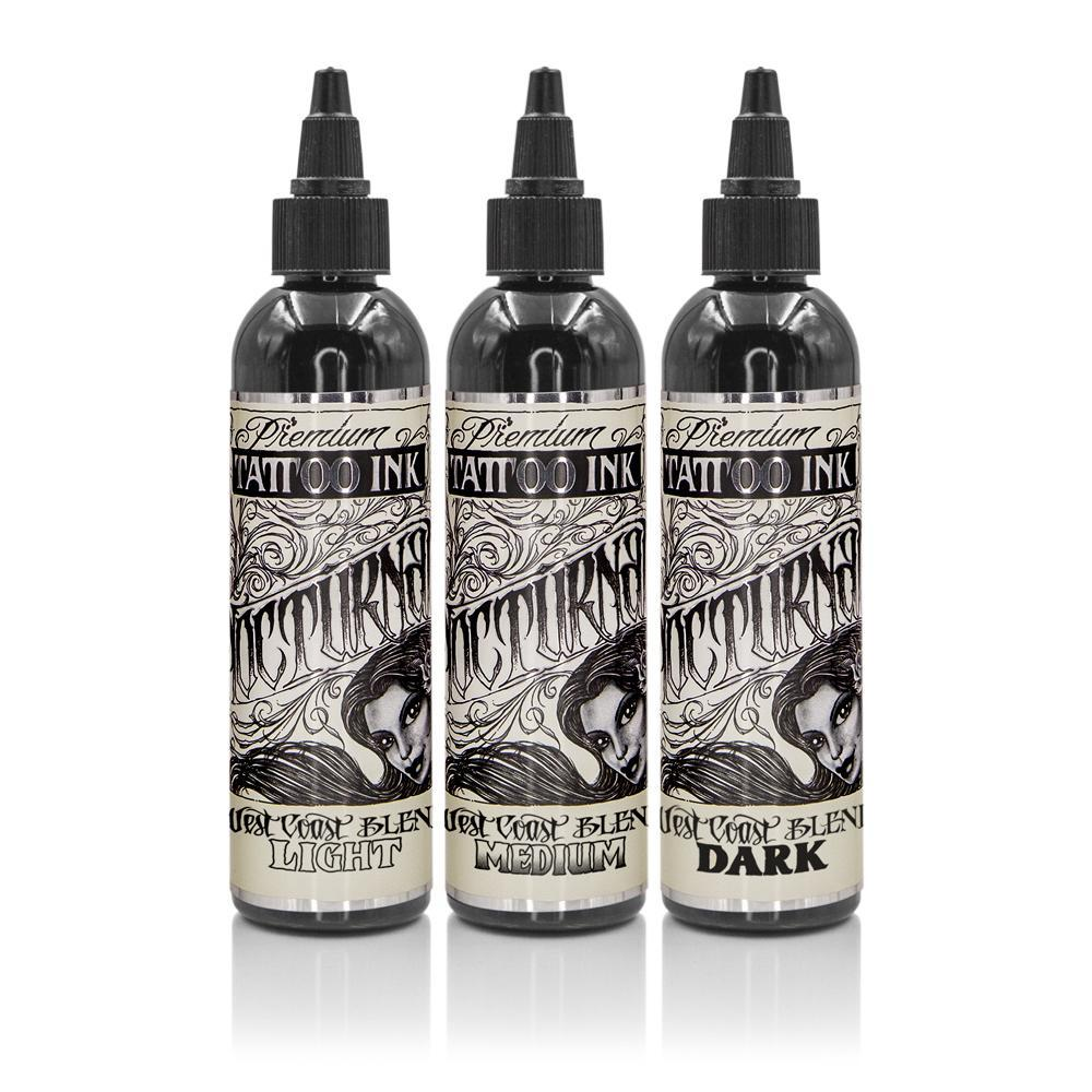 Nocturnal West Coast Blend Set - 2 oz - TattooAwards.com