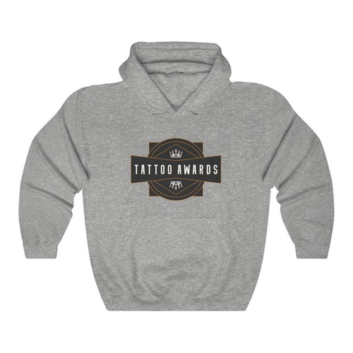 Tattoo Awards Badge Pullover Hoodie - TattooAwards.com