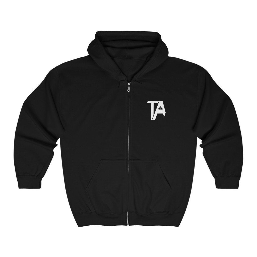 Tattoo Awards Classic Logo Full Zip Hoodie - TattooAwards.com