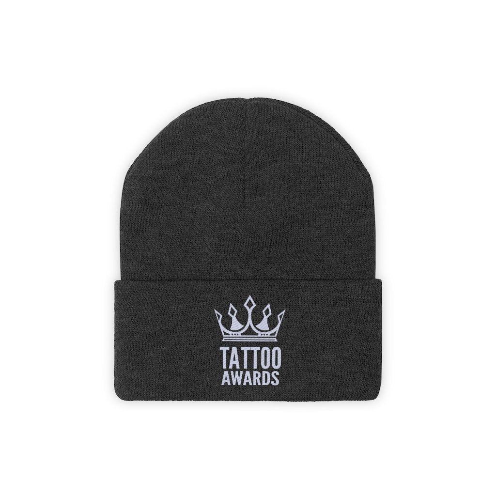 Tattoo Awards Logo Knit Beanie - TattooAwards.com