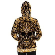 Load image into Gallery viewer, Golden Skull Hoodie - TattooAwards.com
