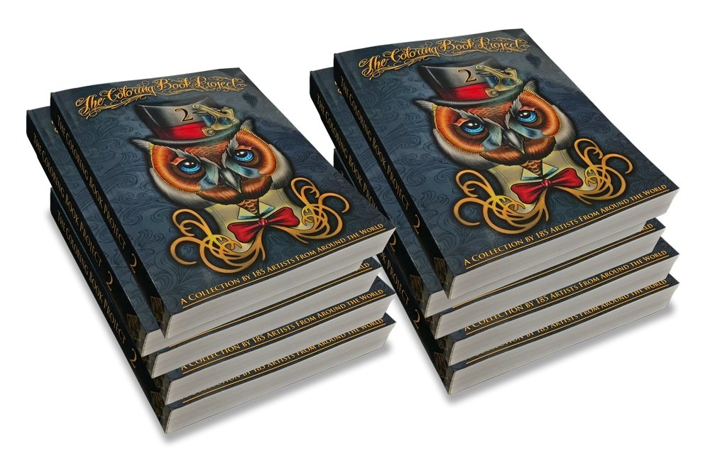 The Coloring Book Project 2 (Wholesale) - TattooAwards.com
