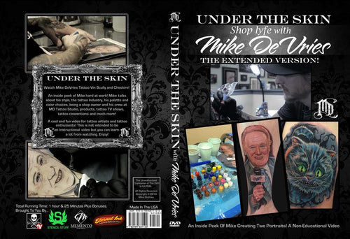 Under The Skin: Shop Lyfe with Mike DeVries - TattooAwards.com