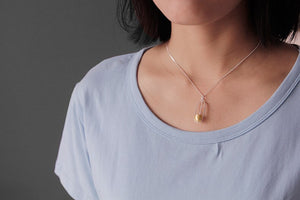 Silver necklace swing simple pendant without chain for ladies - Acecare Jewellery Store