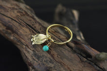 Load image into Gallery viewer, Turquois real silver ring  for women - Acecare Jewellery Store