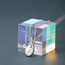 Load image into Gallery viewer, Water drop glass pendant necklace